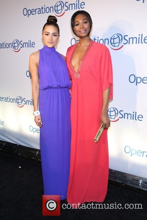 Olivia Culpo and Meriweather 9