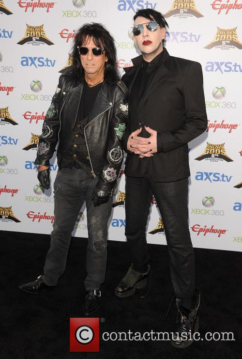 Alice Cooper and Marilyn Manson 1