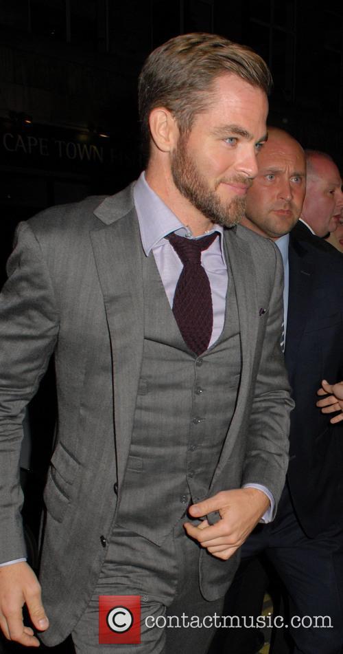 Chris Pine, Facial Hair and Beard 2