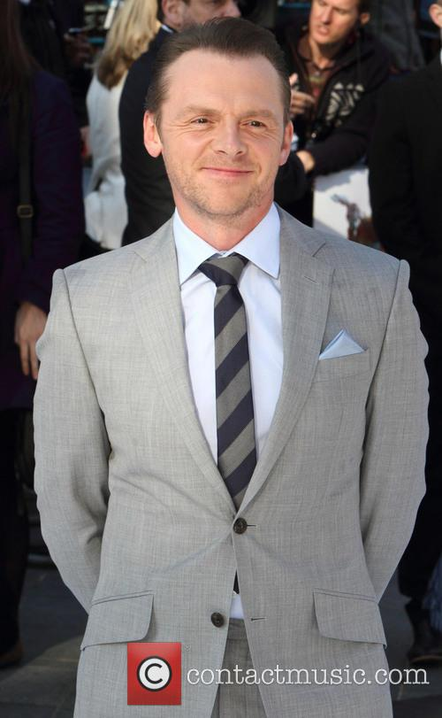 simon pegg premiere of star trek into 3646295