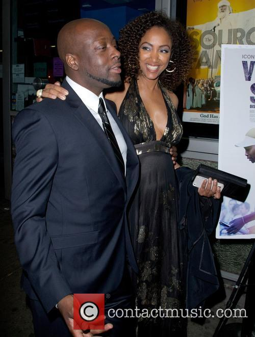 Wyclef Jean and Michelle Major 2