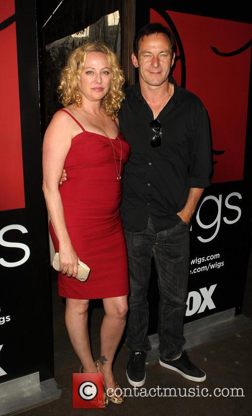Virginia Madsen and Jason Isaacs 7