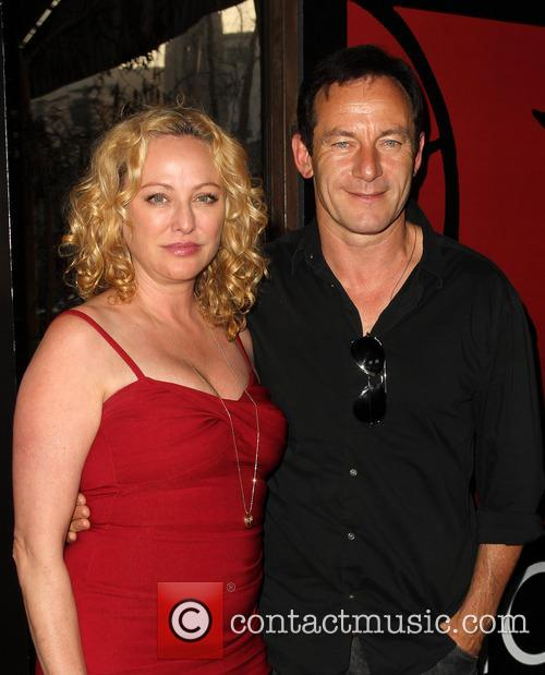 Virginia Madsen and Jason Isaacs 9