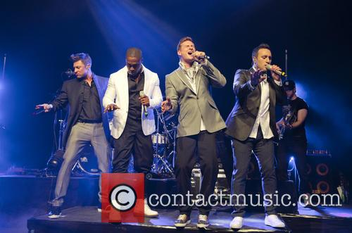 Blue, Lee Ryan, Simon Webbe, Duncan James and Antony Costa 10