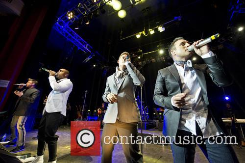 Blue, Lee Ryan, Simon Webbe, Duncan James and Antony Costa 13
