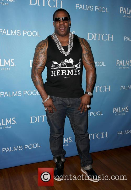 Busta Rhymes, Palms Pool