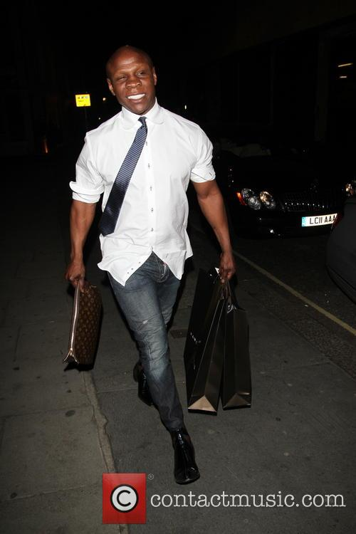 Chris Eubank out and about