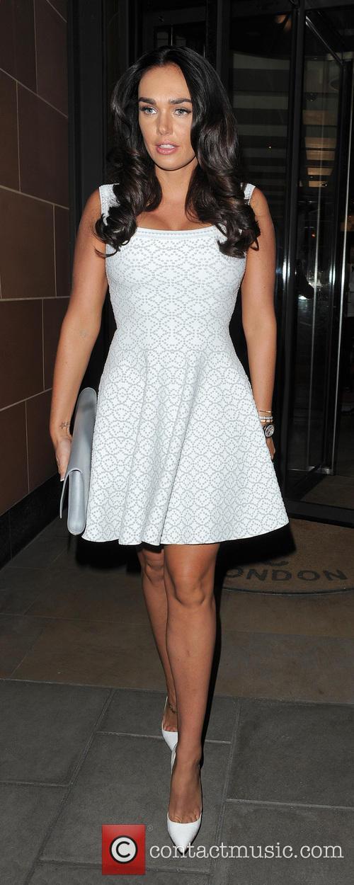 Tamara Ecclestone enjoys a night out at C...