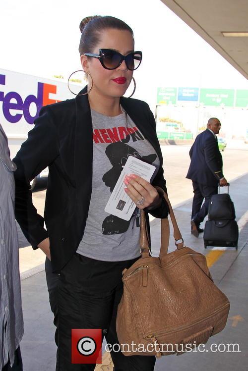 Khloe Kardashian LAX