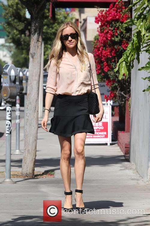 Kristin Cavallari heads to a meeting in West Hollywood