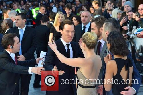 Benedict Cumberbatch and Alice Eve 7