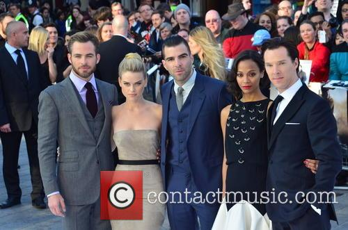 chris pine alice eve zachary quinto zoe saldana benedict cumberbatch uk 3648681