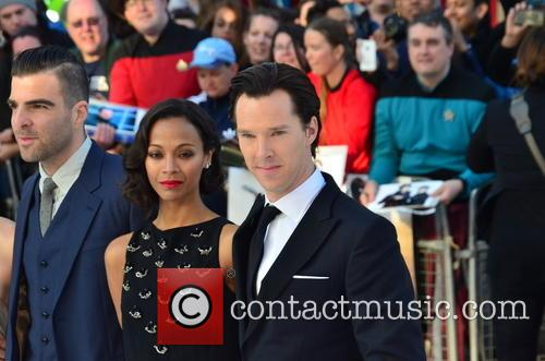 Zoe Saldana and Benedict Cumberbatch 9