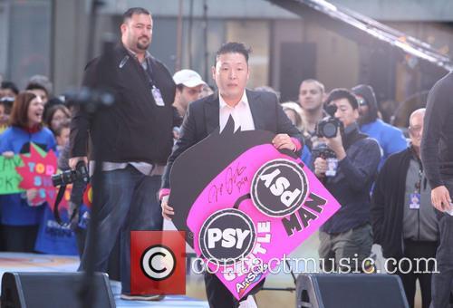Psy and Park Jae-sang 10