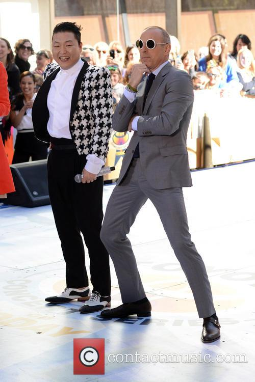 Psy and Matt Lauer 2