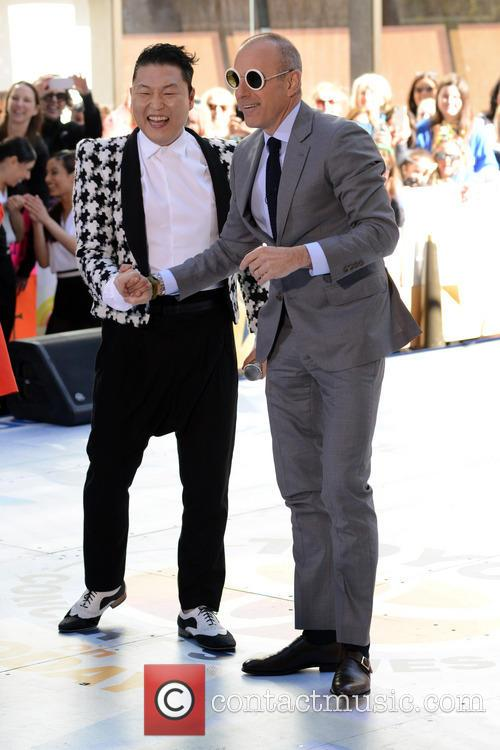 Psy and Matt Lauer 3