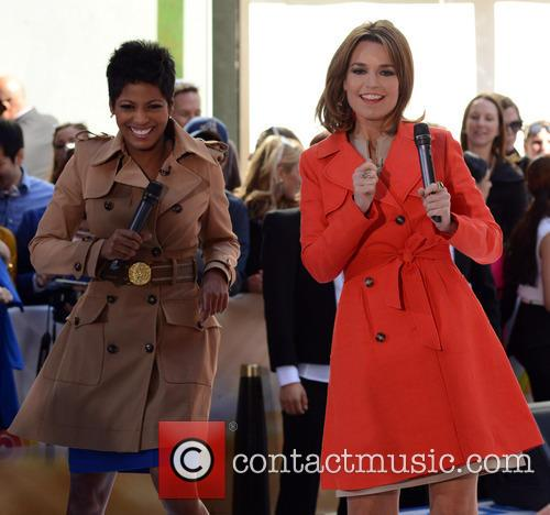 Savannah Guthrie and Tamron Hall 2