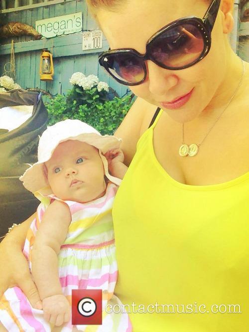 Imogen Thomas and Daughter Ariana Horsley 2