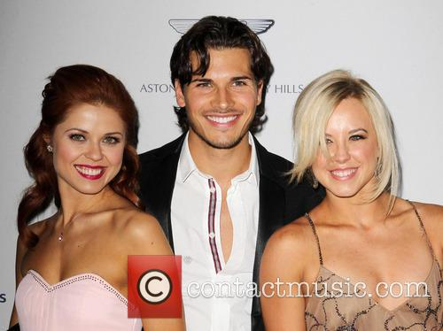 Anna Trebunskaya, Gleb Savchenko and Chelsie Hightower 3