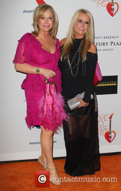 Kathy Hilton and Kim Richards