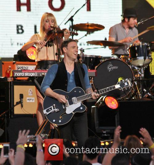 The Airborne Toxic Event performs live