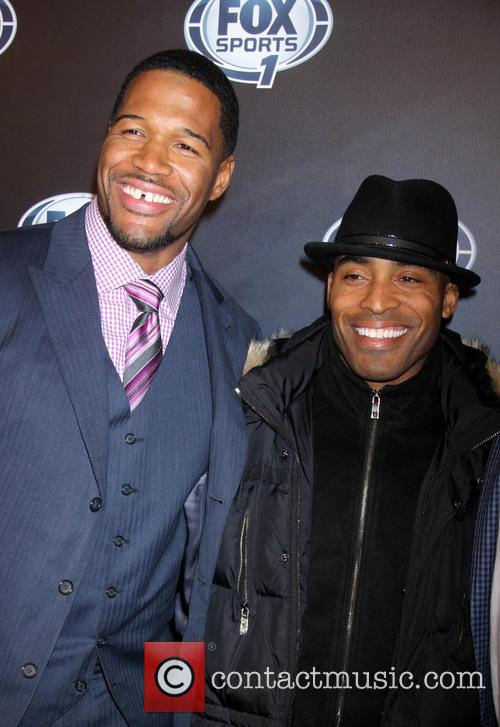 Michael Strahan and Guest 1