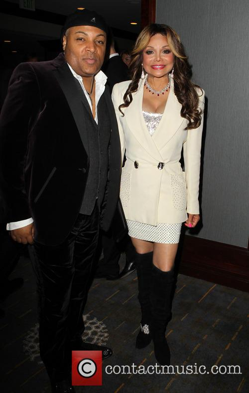 Jeffre Phillips and La Toya Jackson 1