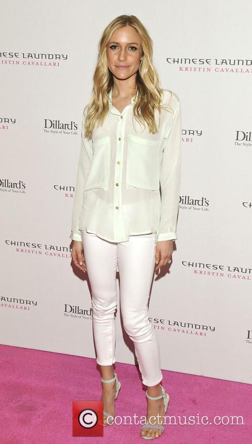 Kristin Cavallari promotes 'Chinese Laundry By Kristin Cavallari'...