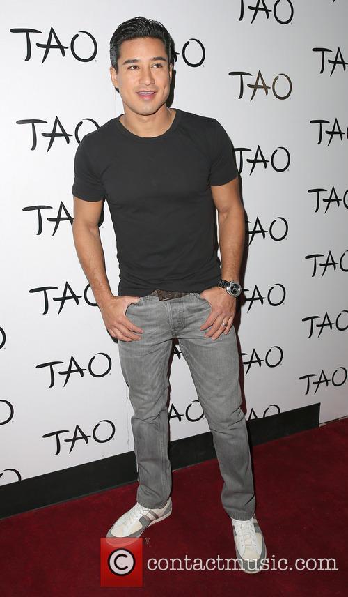 Mario Lopez at TAO Las Vegas