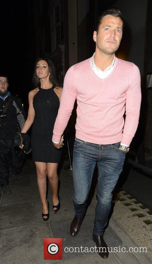Michelle Keegan and Mark Wright 5