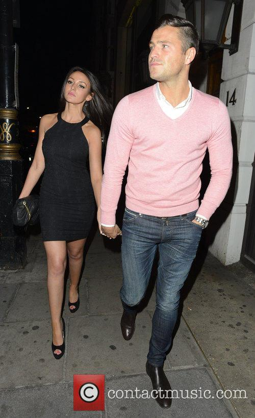 Michelle Keegan and Mark Wright 1