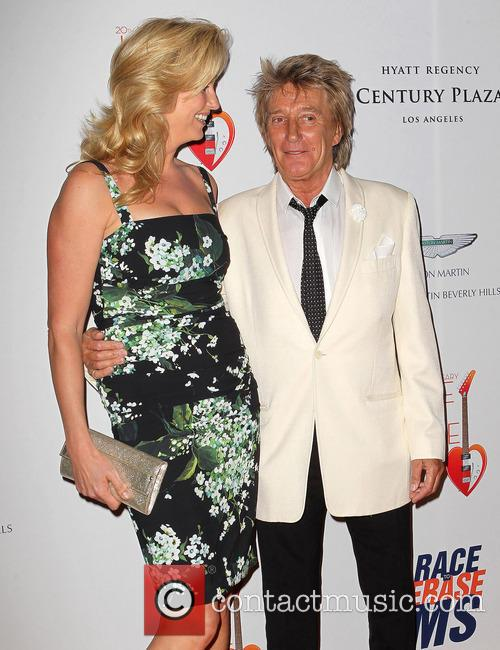 Penny Stewart and Rod Stewart 3