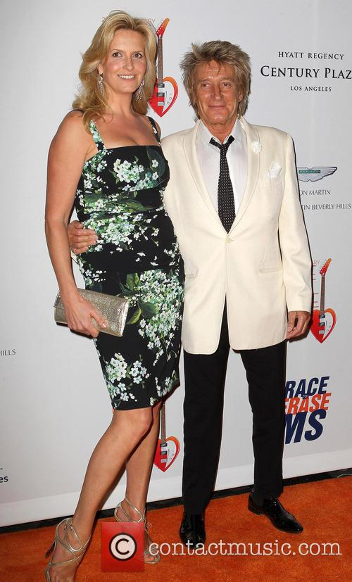 Penny Stewart and Rod Stewart 1