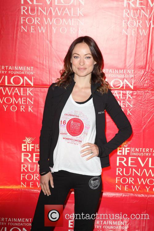 Olivia Wilde, Times Square and 47th st, Times Square