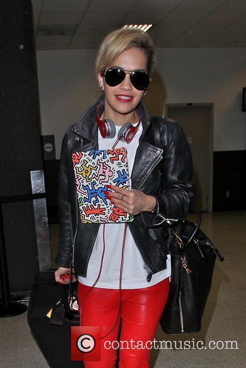 Rita Ora, LAX airport