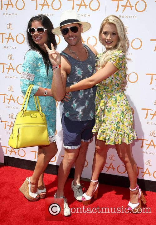 Laura Croft, Josh Strickland and Holly Madison 2