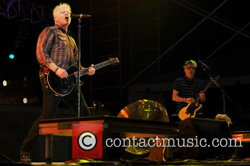 Dexter Holland, Noodles, Kevin Wasserman and The Offspring 7