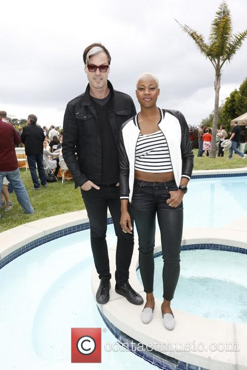 Fitz & The Tantrums, Michael Fitzpatrick and Noelle Scaggs 2