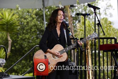 susanna hoffs adam carolla launches mangria white 3644553