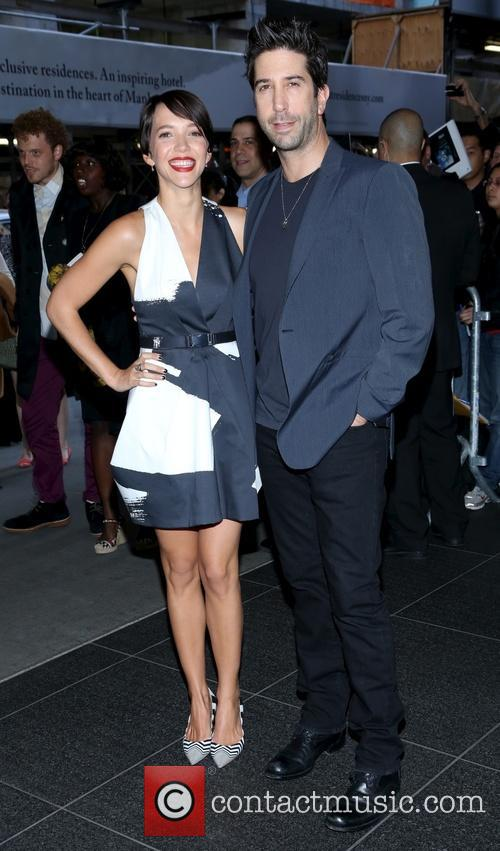 Zoe Buckman and David Schwimmer 2