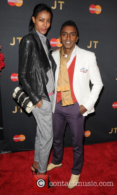 Justin Timberlake and Marcus Samuelsson 2