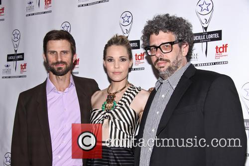 Fred Weller, Leslie Bibb and Neil La Bute 1