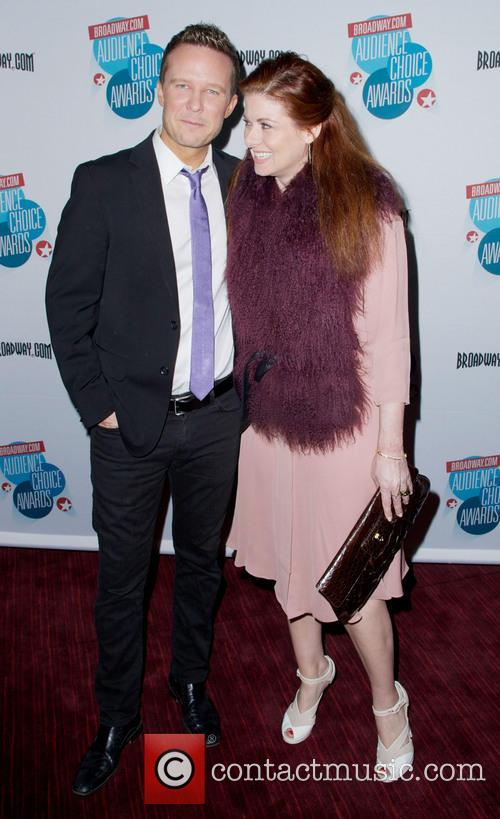 Debra Messing and Will Chase 4