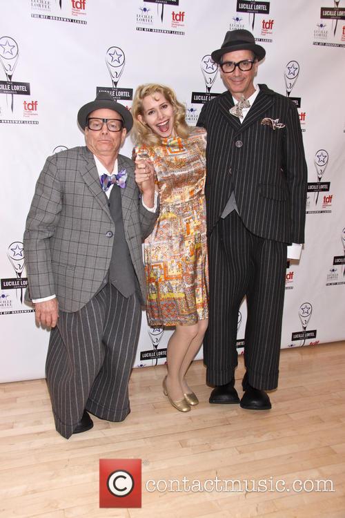 Bill Irwirn, Nellie Mckay and David Shiner