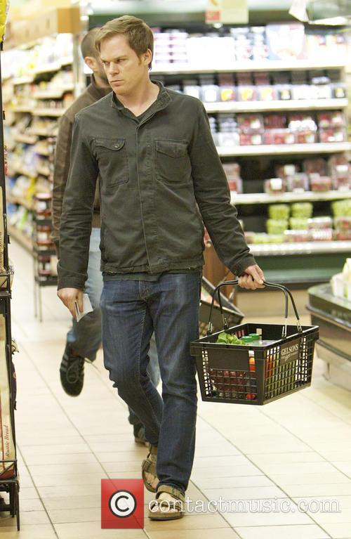 Michael C. Hall goes shopping for groceries