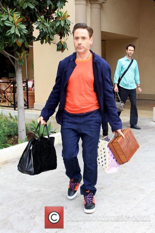 Robert Downey Jr In Beverly Hills