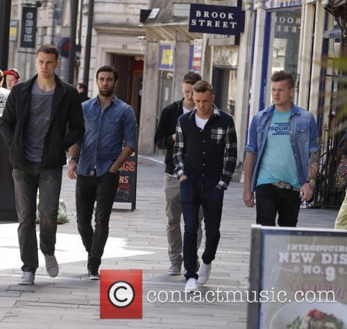 Mason, Ben Turner, Simon Lappin, Craig Noone and Aron Gunnarsson 3
