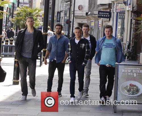 Mason, Ben Turner, Simon Lappin, Craig Noone and Aron Gunnarsson 4