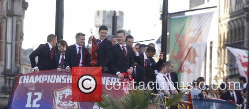 Cardiff City FC victory parade