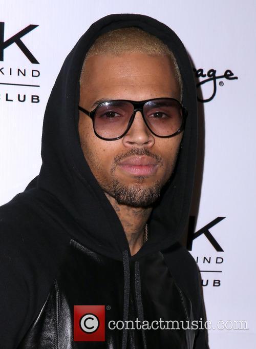 Chris Brown celebrates his 24th birthday